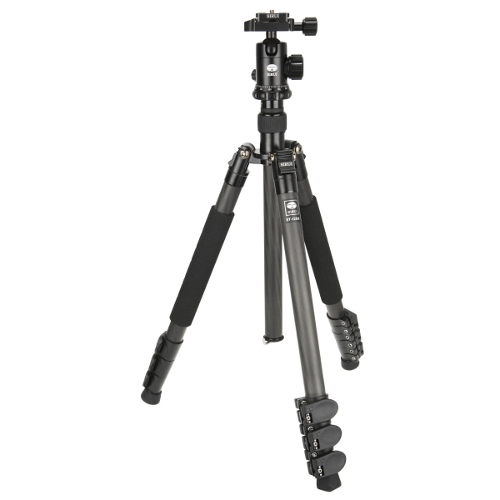 ET-1204 Carbon Fiber Professional Tripod with Ball Head